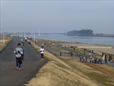 マラソン大会風景