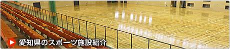 愛知県のスポーツ施設紹介